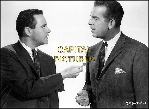 JACK LEMMON & FRED MACMURRAY.in The Apartment.*Editorial Use Only*.www.capitalpictures.com.sales@capitalpictures.com.Supplied by Capital Pictures.