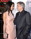 George Clooney, Amal Alamuddin Clooney<br />  attends The Warner Bros. Pictures' L.A. Premiere of Our Brand is Crisis held at The TCL Chinese Theatre  in Hollywood, California on October 26,2015                                                                               &copy; 2015 Hollywood Press Agency