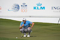 Sergio Garcia (ESP) in action on the 13th hole during the final round at the KLM Open, The International, Amsterdam, Badhoevedorp, Netherlands. 15/09/19.<br /> Picture Stefano Di Maria / Golffile.ie<br /> <br /> All photo usage must carry mandatory copyright credit (© Golffile | Stefano Di Maria)