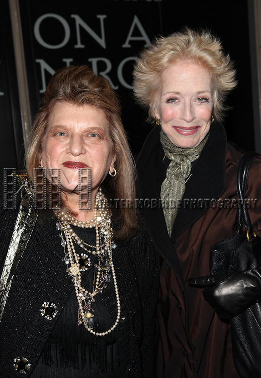Julie Weiss & Holland Taylor attending the Broadway Opening Night Performance of 'Cat On A Hot Tin Roof' at the Richard Rodgers Theatre in New York City on 1/17/2013