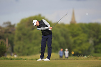 Euan Walker (Kilmarnock - Barassie) on the 5th tee during Round 3 of the Lytham Trophy, held at Royal Lytham & St. Anne's, Lytham, Lancashire, England. 05/05/19<br /> <br /> Picture: Thos Caffrey / Golffile<br /> <br /> All photos usage must carry mandatory copyright credit (© Golffile | Thos Caffrey)