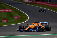 1st August 2020, Silverstone, Northampton, UK; FIA Formula One World Championship 2020, Grand Prix of Great Britain,  qualifying;  4 Lando Norris GBR, McLaren F1 Team