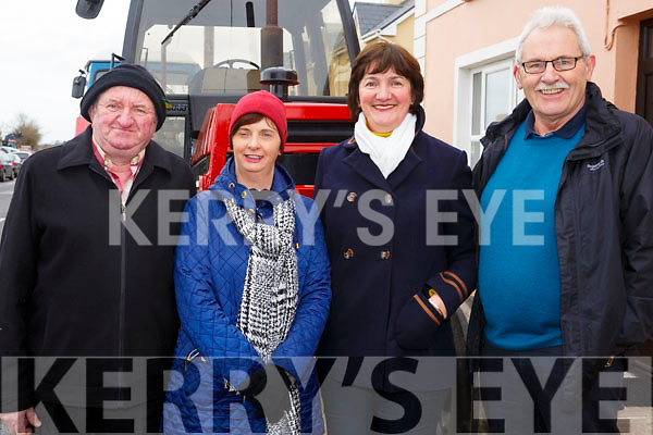 Donal and Kathleen Daly (Inch), Joan and Mike Long (Keel)  attending the James Ashe Memorial Tractor Run at the Anvil Bar, Boolteens on Sunday last.