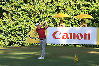 Chris Paisley (ENG) in action on the 8th during Round 4 of the Maybank Championship at the Saujana Golf and Country Club in Kuala Lumpur on Saturday 4th February 2018.<br /> Picture:  Thos Caffrey / www.golffile.ie<br /> <br /> All photo usage must carry mandatory copyright credit (&copy; Golffile | Thos Caffrey)