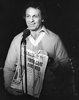 Mort Sahl 1978<br /> Photo By Adam Scull/PHOTOlink.net
