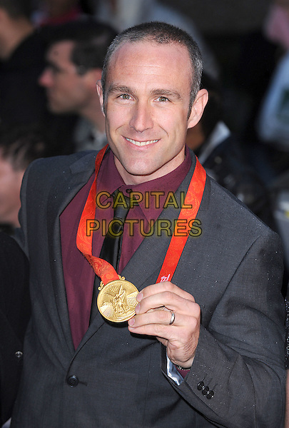 OLYMPIC GOLD MEDAL WINNER .Attending The 2008 Pride of Britain Awards, Television Centre, London..England, UK, 30th September 2008..half length .CAP/BEL.©Tom Belcher/Capital Pictures