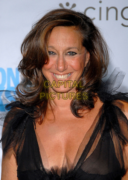 DONNA KAREN.Conde Nast Media Group's Third Annual Fashion Rocks Concert at Radio City Music Hall, New York, NY, USA,.7 September 2006..portrait headshot designer black dress Karan.Ref: ADM/PH.www.capitalpictures.com.sales@capitalpictures.com.©Paul Hawthorne/AdMedia/Capital Pictures. *** Local Caption ***
