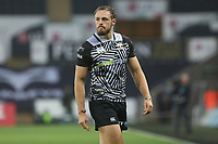 Cory Allen of Ospreys during the Champions Cup Round 1 match between Ospreys and Clermont at The Liberty Stadium, Swansea, Wales, UK. Sunday 15 October 2017