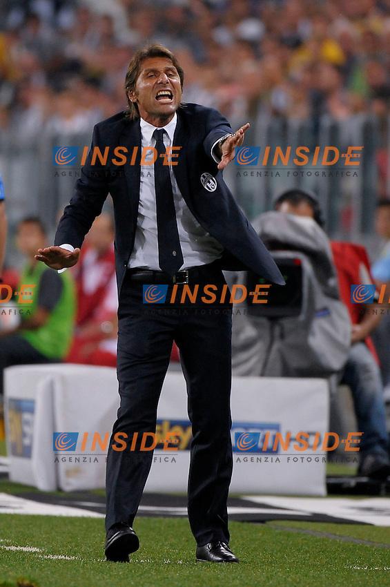 Antonio Conte  Juventus<br /> Torino 31-08-2013 Juventus Stadium<br /> Football Calcio 2013/2014 Serie A<br /> Juventus Vs Lazio<br /> Foto Federico Tardito Insidefoto