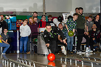Pictured: Connor Roberts of Swansea City during the Swansea player and fans bowling evening at Tenpin Swansea, Swansea, Wales, UK. Wednesday 22 January 2020