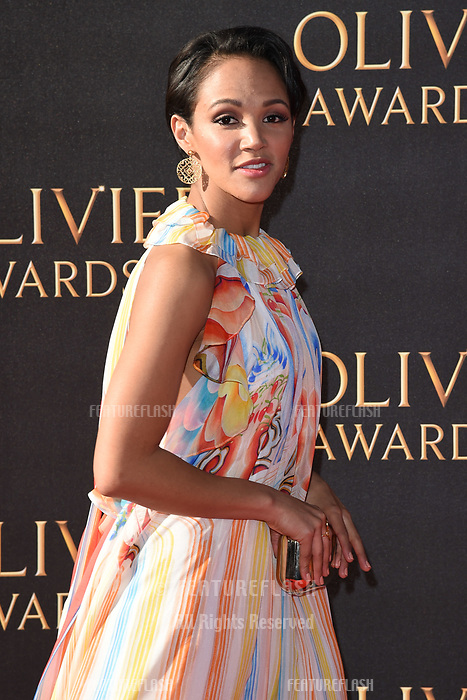 Lily Frazer at The Olivier Awards 2017 at the Royal Albert Hall, London, UK. <br /> 09 April  2017<br /> Picture: Steve Vas/Featureflash/SilverHub 0208 004 5359 sales@silverhubmedia.com