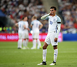 England's Dele Alli looks on dejected during the Friendly match at Stade De France Stadium, Paris Picture date 13th June 2017. Picture credit should read: David Klein/Sportimage