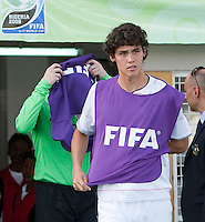 William Packwood. Italy defeated the US Under-17 Men's National Team 2-1 in Kaduna, Nigera on November 4th, 2009.