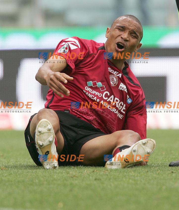 Jose Luis da Cruz Vidigal (Livorno)<br /> Italian &quot;Serie A&quot; 2006-07 <br /> 6 May 2007 (Match Day 35)<br /> Lazio-Livorno (1-0)<br /> &quot;Olimpico&quot; Stadium-Roma-Italy<br /> Photographer Andrea Staccioli INSIDE