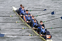 Crew: 174  Bedford Sch  Event: J15 School 1st eights<br /> <br /> Schools' Head of the River 2017<br /> <br /> To purchase this photo, or to see pricing information for Prints and Downloads, click the blue 'Add to Cart' button at the top-right of the page.