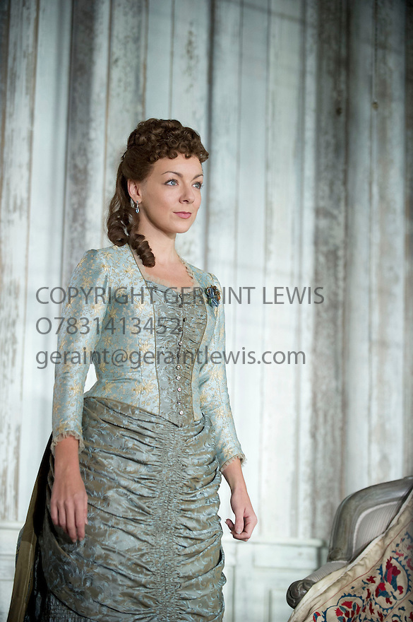 Hedda Gabler by Henrik Ibsen. A version by Brian Friel directed by Anna Mackmin. With Sheridan Smith as Hedda Gabler. Opens at The Old Vic Theatre on 12/9/12.CREDIT Geraint Lewis
