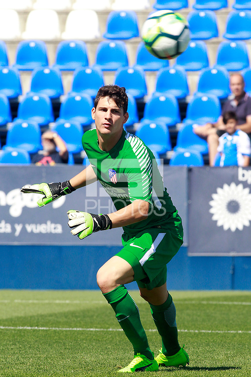 Atletico de Madrid's Alex Werner during friendly match. August 12,2017.  *** Local Caption *** &copy; pixathlon<br /> Contact: +49-40-22 63 02 60 , info@pixathlon.de
