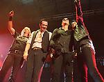 IRVINE, CA. - June 05: (L-R) Musicians Eric Kretz, Scott Weiland, Robert DeLeo and Dean DeLeo of Stone Temple Pilots perform at the 2010 Los Angeles KROQ Weenie Roast at Verizon Wireless Amphitheater on June 5, 2010 in Irvine, California.