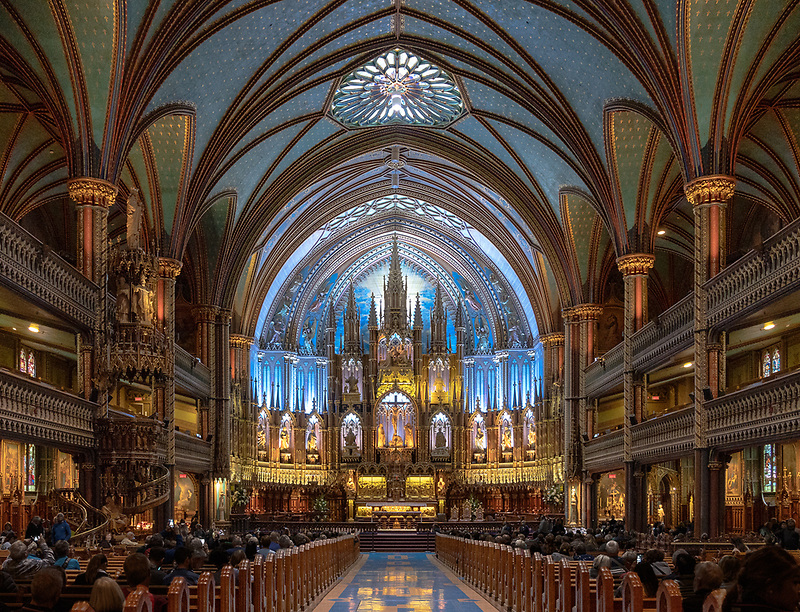 Notre Dame Basilica<br /> Montreal