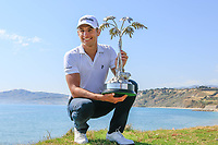 Joakim Lagergren (SWE) after the final round of the Rocco Forte Sicilian Open played at Verdura Resort, Agrigento, Sicily, Italy 13/05/2018.<br /> Picture: Golffile | Phil Inglis<br /> <br /> <br /> All photo usage must carry mandatory copyright credit (&copy; Golffile | Phil Inglis)