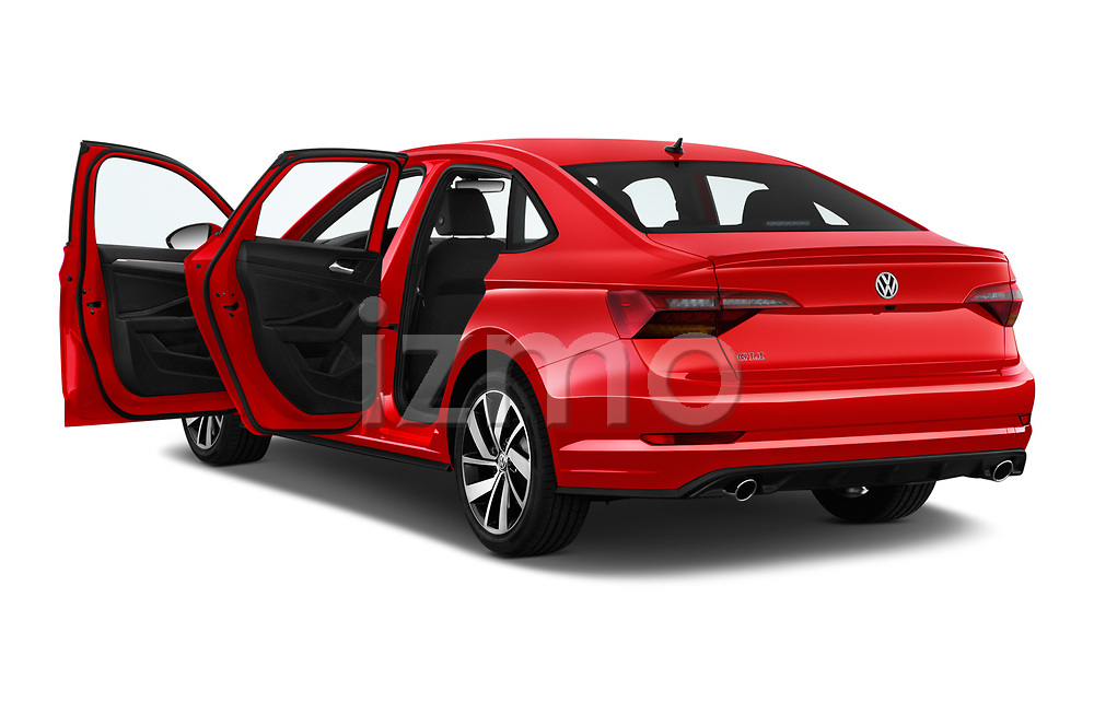 Car images close up view of a 2019 Volkswagen Jetta GLI-S 4 Door Sedan doors