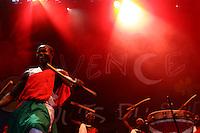 """CONCERT """"les tambours du Burundi"""" aux Nuits du sud 2008"""