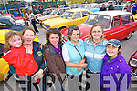 Molly, Marie, Stephanie, Kitty, Karen and Katie Dwyer (Castlemaine) pictured at Castlemaine vintage day on Sunday.