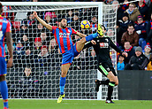 9th December 2017, Selhurst Park, London, England; EPL Premier League football, Crystal Palace versus Bournemouth; Andros Townsend of Crystal Palace brings the ball under control