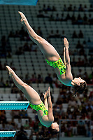 KEENEY Maddison, SMITH Anabelle AUS<br /> Diving <br /> Women's 3m Synchro Springboard Preliminary<br /> Day 04 17/07/2017 <br /> XVII FINA World Championships Aquatics<br /> Duna Arena Budapest Hungary July 15th - 30th 2017 <br /> Photo @A.Masini/Deepbluemedia/Insidefoto