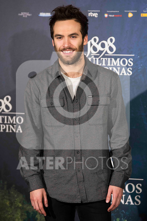 "Ricardo Gomez attends to the presentation of the spanish film "" 1898. Los ultimos de Filipinas"" at Naval Museum in Madrid, Spain. November 28, 2016. (ALTERPHOTOS/BorjaB.Hojas)"