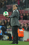08.01.2014 Barcelona, Spain. Spanish Cup 1/8 Final. Picture show Gerardo MArtino  in action during game between FC Barcelona against Getafe at Camp Nou