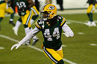 Green Bay Packers cornerback Donatello Brown (44) during a National Football League game against the Minnesota Vikings on December 23rd, 2017 at Lambeau Field in Green Bay, Wisconsin. Minnesota defeated Green Bay 16-0. (Brad Krause/Krause Sports Photography)