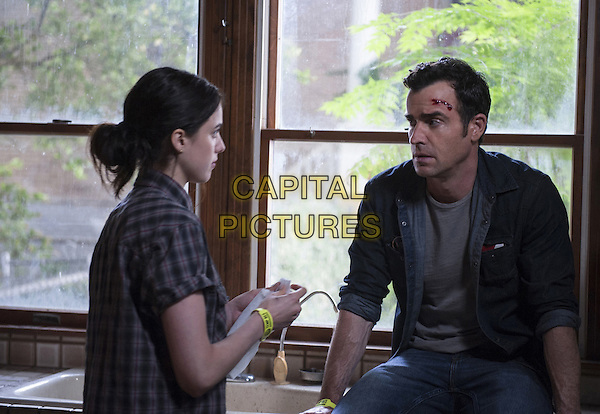 The Leftovers  (2014-)<br /> (Season2)<br /> Margaret Qualley, Justin Theroux<br /> *Filmstill - Editorial Use Only*<br /> CAP/FB<br /> Image supplied by Capital Pictures