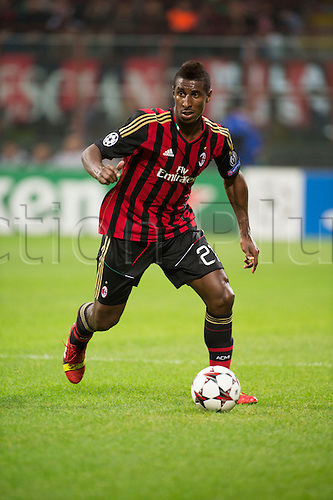 22.10.l2013. Milan, Italy. UEFA Champions League football. AC Milan versus FC Barcelona. Group stages. Kevin Constant (Milan),  at Stadio Giuseppe Meazza in Milan, Italy.