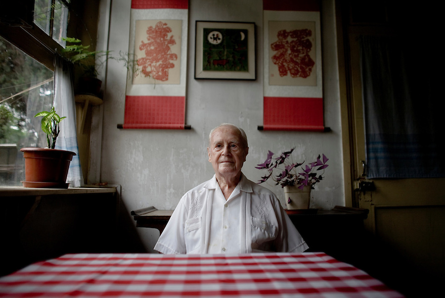 Sidney Shapiro in his Beijing home. Shapiro is an American-born author and translator who has lived in China since 1947. He resides in Beijing, and is a member of the Chinese People's Political Consultative Council. He is one of very few naturalized citizens of the PRC. or nearly 50 years, he was employed by the state-run Foreign Languages Press (FLP) as a translator of works of Chinese literature. He is most well known for his highly-regarded English version of The Outlaws of the Marsh, one of the most important classics of Chinese literature.