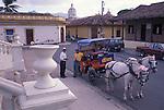 Horse-Drawn Cab in Granada, Nicaragua