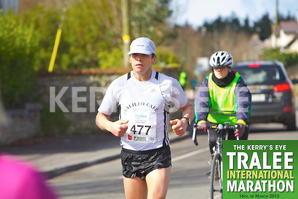 0477 Vasiliy Neumerzhitskiy  who took part in the Kerry's Eye, Tralee International Marathon on Saturday March 16th 2013.