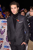 George Shelley at the Pride of Britain Awards 2017 at the Grosvenor House Hotel, London, UK. <br /> 30 October  2017<br /> Picture: Steve Vas/Featureflash/SilverHub 0208 004 5359 sales@silverhubmedia.com