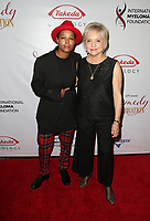 LOS ANGELES, CA - NOVEMBER 3: Chaunte Wayans, Loraine Alterman Boyle, at The International Myeloma Foundation's 12th Annual Comedy Celebration at The Wilshire Ebell Theatre in Los Angeles, California on November 3, 2018.   <br /> CAP/MPI/FS<br /> &copy;FS/MPI/Capital Pictures