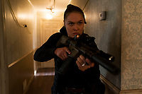 Mile 22 (2018) <br /> Ronda Rousey  <br /> *Filmstill - Editorial Use Only*<br /> CAP/MFS<br /> Image supplied by Capital Pictures