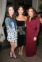 LOS ANGELES, CA - NOVEMBER 8: Denyse Tontz, Gina Rodriguez, Eva Longoria, at the Eva Longoria Foundation Dinner Gala honoring Zoe Saldana and Gina Rodriguez at The Four Seasons Beverly Hills in Los Angeles, California on November 8, 2018. Credit: Faye Sadou/MediaPunch