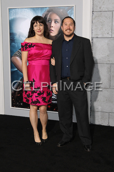 "ETHAN ERWIN, MEREDITH BERG. Los Angeles Premiere of Warner Brothers Pictures' ""Sherlock Holmes: A Game of Shadows,"" at the Regency Village Theatre in Westwood. Los Angeles, CA USA. December 6, 2011.©CelphImage"