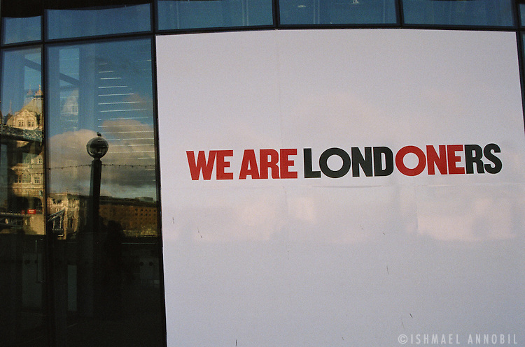 WE ARE ALL LONDONERS, LONDON BRIDGE
