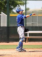 Gorman Erickson / Los Angeles Dodgers 2008 Instructional League..Photo by:  Bill Mitchell/Four Seam Images