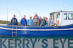 Some of the 30 anglers taking part in a Sea angling competition in aid of the Derrynane Inshore Rescue on Saturday morning last were l-r; Jamie Lynch, Niall Lynch, Kevin Deasy, Ray Cush(Skipper), Vincent Sheehan, Michael Donnelly, Oliver Sheehan & Johnny Griffin.
