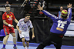 Samuel HONRUBIA vs Marko RAJKOVIC. Montenegro vs France: 20-32 - Preliminary Round - Group A