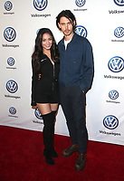 LOS ANGELES, CA - NOVEMBER 30: Vanessa Hudgens and Austin Butler pictured as Vanessa Hudgens And Austin Butler Celebrate Volkswagen&rsquo;s Annual Drive-In Event at Goya Studios in Los Angeles, California on November 30, 2018. <br /> CAP/MPIFS<br /> &copy;MPIFS/Capital Pictures
