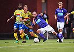 2018-08-10 / Voetbal / Seizoen 2018-2019 / KFCO Beerschot-Wilrijk - KVC Westerlo / Gilles De Waele met Erwin Hoffer (r. B-W)<br /> <br /> ,Foto: Mpics