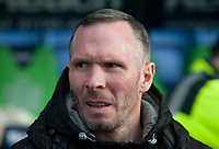 Lincoln City manager Michael Appleton during the pre-match warm-up<br /> <br /> Photographer Andrew Vaughan/CameraSport<br /> <br /> The EFL Sky Bet League One - Shrewsbury Town v Lincoln City - Saturday 11th January 2020 - New Meadow - Shrewsbury<br /> <br /> World Copyright © 2020 CameraSport. All rights reserved. 43 Linden Ave. Countesthorpe. Leicester. England. LE8 5PG - Tel: +44 (0) 116 277 4147 - admin@camerasport.com - www.camerasport.com