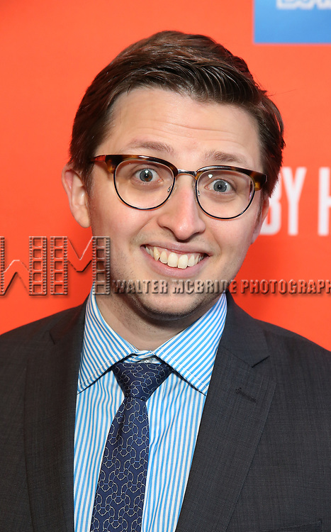 """Will Roland attending the Broadway Opening Night Performance of  """"Lobby Hero"""" at The Hayes Theatre on March 26, 2018 in New York City."""